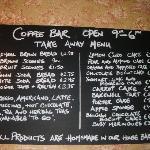 Coffee Bar  - Takeaway Options