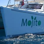 mojito bow sticker