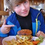 le fameux burger savoyard !