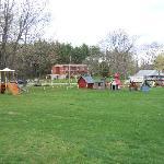 The playground area