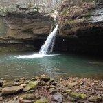 Falls near Longbow Cabin