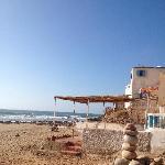 Step onto the sand from Aftas Beach House