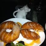 homemade donuts: YUM