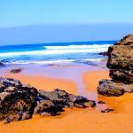 Una caletta lungo la spiaggia del Guincho