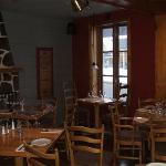 Main dining room of Papa Luigi