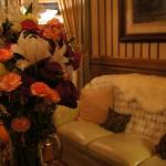 Beautiful furnishings, fresh flowers