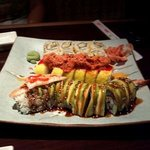 Try to volcano roll!