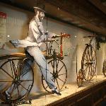 The bicycle exhibit.
