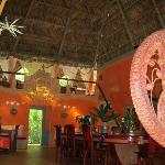 The dining/lobby area.
