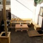 new back area