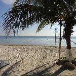 La quietud de la playa