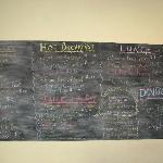 fun menu & reasonable drink prices