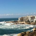 looking back at seapoint / bantry bay from Clifton