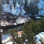Beautiful winter day in February 2012