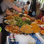 Self service food at the markets!
