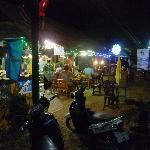 Night time at Fajitas