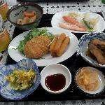 A typical yamada dinner