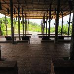 Meditation area
