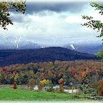 Enjoy the incredible views that surround our Sugarbush bed and breakfast!