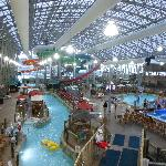 fabulous indoor water slide park