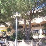 VUE EXTERIEURE DE L HOTEL COLIBRI