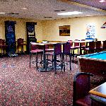 Enjoy good food and a drink in Tapps Lounge