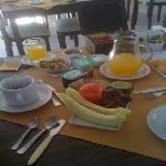 breakfast at La Morada