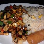 Cashew Chicken - lunch portion