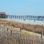 The boardwalk and pier.