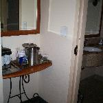 Entrance to bathroom