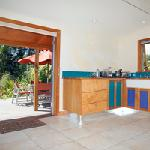 garden studio kitchen/terrace