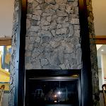 New Stone Fireplace