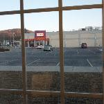 View of parking lot and Dunkin Donuts