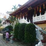 Tempelanlage ganz in der nähe