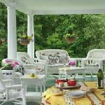 enjoy the wrap around porch