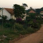 The road outside Speke Apartments Kitante