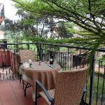 Balcony of Speke Apartments Kitante