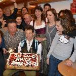 festa dei 10 anni all'albergo Aurora