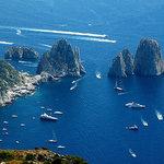 Capri, The Faraglioni Rocks