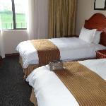 chambre classique de motel