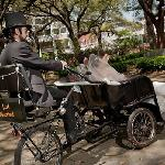 Savannah Pedicab has two special event cabs for that special night.