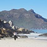 Escape to the beach for a walk