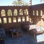 Chambres à l'étage, terrasse
