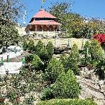 Brahmkumari Temple with lovely landscaping