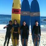 Perfectos tipo de tablas para clases de surf