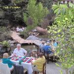 Riparian dining