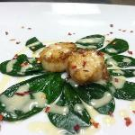 scallops with citrus butter sauce