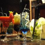 From the bar: Some of our cocktails