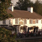 The Greyhound on a summer evening