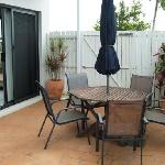 Bargara Dream Townhouse - Courtyard